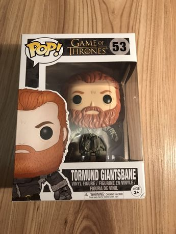 Figurka Funko Pop - Game of Thrones (Gra o tron): Tormund nr 53