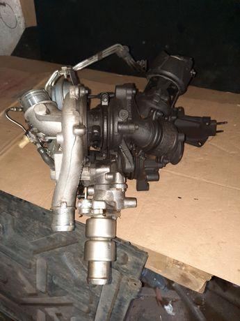 Turbosprężarka BiTurbo 2.2 Hdi