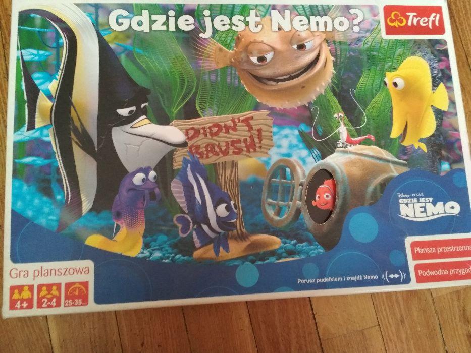 Gdzie jest Nemo? gra planszowa TREFL Warszawa - image 1