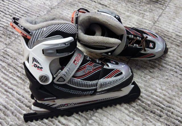 Łyżwy hokejowe FILA regulowane 35--38