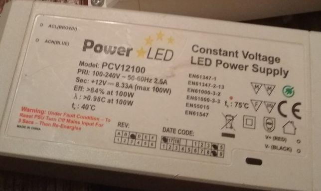 Трансформатор PowerLED светодиодный PCV12100 100 Вт+TLPS-12-150 150 Вт