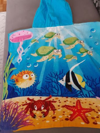 Ręcznik poncho