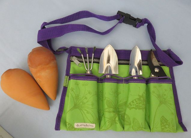 Jardinagem acessórios lindo set com mala cintura, ancinho, etc