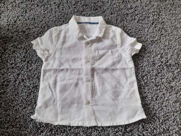 Koszulka dla chłopca marks & spencer 3-6 miesięcy elegancka chrzest
