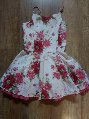Sukienka elegancka rozm 104
