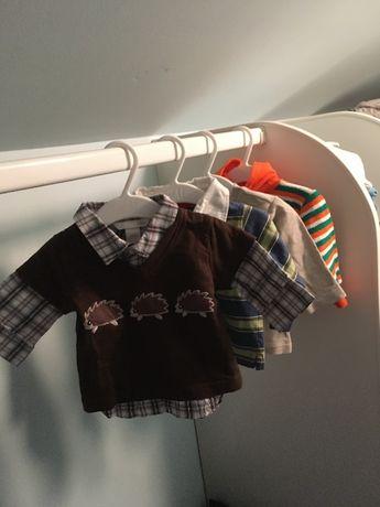 Ubranie koszulki bluzeczki ubranka chłopięce H&M Topolino Next 62