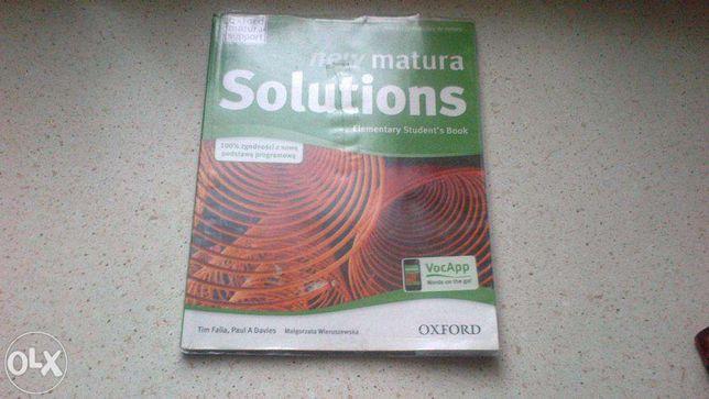 Podręcznik new matura Solutions (oxford)