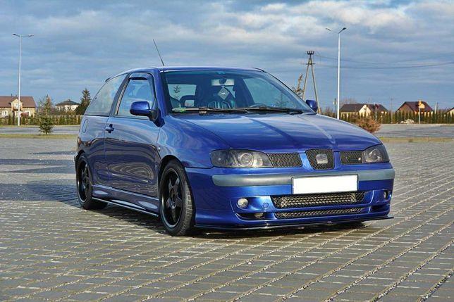 Seat Ibiza 6K2 (99-02) - Lâmina Frontal Cupra v.1 (Texturado)