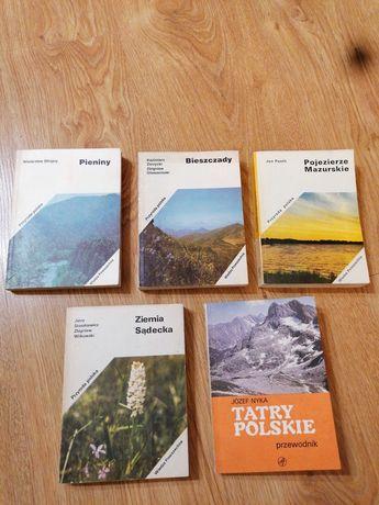 Książki z serii Przyroda Polska 4 szt. + gratis