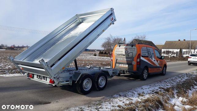 Brenderup 3S KIPPER  PROMOCJA Przyczepa wywrotka trójstronna 3500kg, DOSTAWA !!!