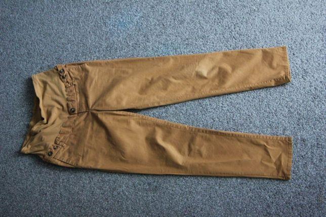 Rude spodnie HM S cygaretki chinos z regulacja w pasie 36