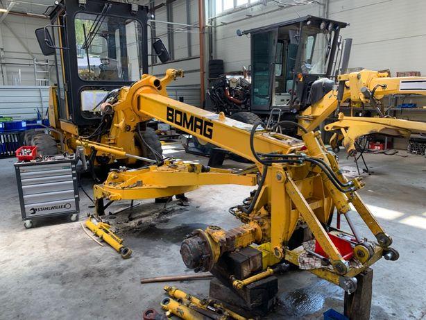 Naprawa koparko-ładowarki remont serwis obsługa, CASE, JCB, New Hollan