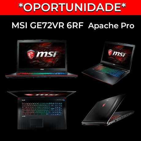 *OPORTUNIDADE* MSI Ge72vr 6rf Apache Pro Gaming Portátil