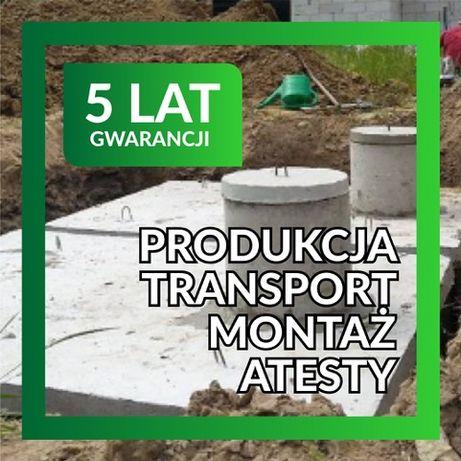 Szambo betonowe Zbiornik betonowy na deszczówkę Producent Gwarancja!
