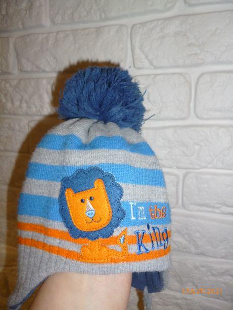 czapka na polarze 9-12 miesiey