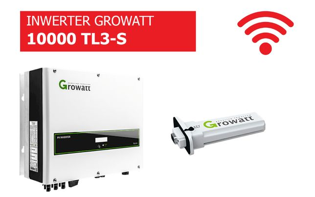 Falownik Growatt 10000 TL3-S WiFi Inwerter cena brutto