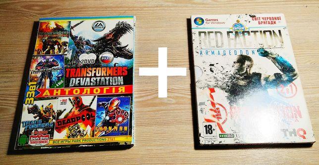 "Продаю диск ""Transformers Devastation"" + ""Red Faction"""