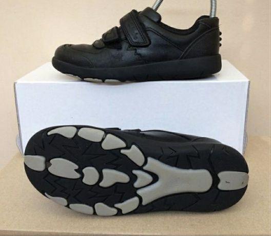 Nike Clarks AIR spring кожаные туфли кроссовки  32 -33-34р ст.22см