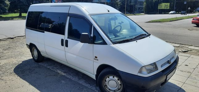 Fiat Scudo 2.0HDI2000р 8+1 длинная база