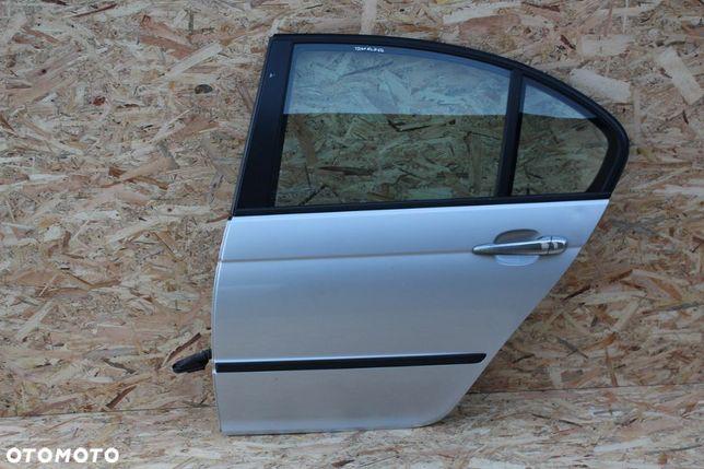 Drzwi BMW e46 sedan LEWY TYŁ kompletne idealne TITANSILBER