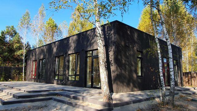 Дом, 5 спален, в лесу, у озера, в закрытом КГ, Жукин