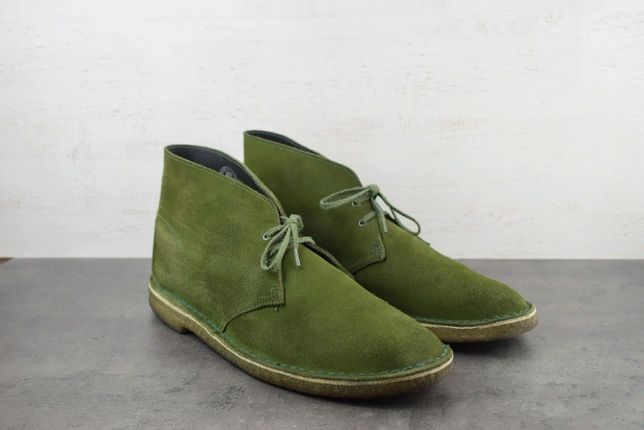 Ботинки Clarks. Замша. Размер 47