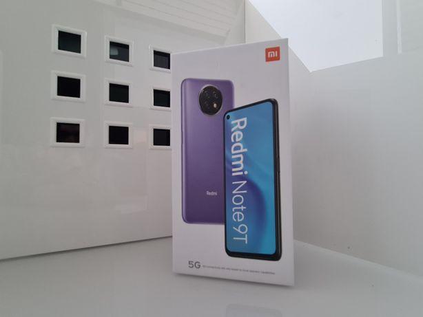 Xiaomi Redmi Note 9T 5G 4GB 128GB Black Novo Selado