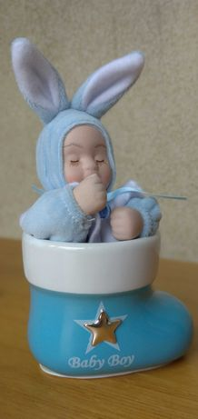 Caixa Música Bebé Menino