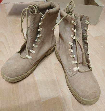Buty trzewiki pustynne skórzane wojskowe wz. 920P r 26.5