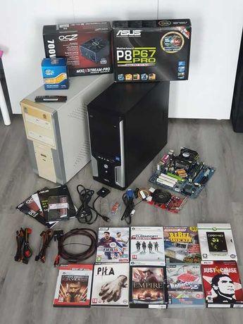 Komputer Pc Asus do gier home office e nauka gratis PC i GRY
