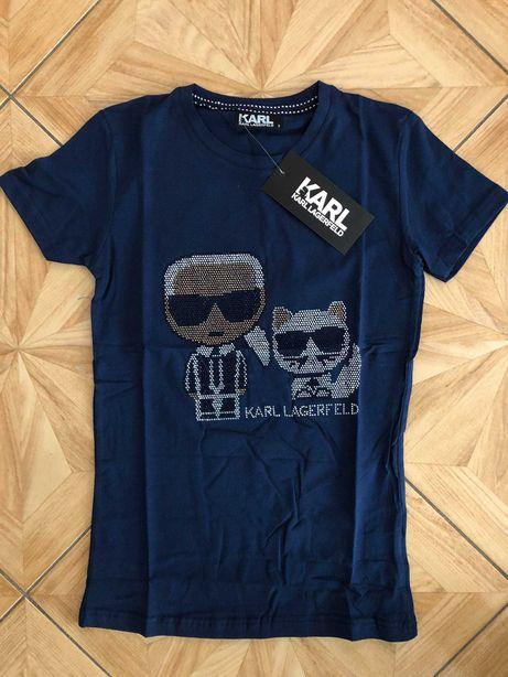 Karl Lagerfeld Koszulka Damska CEKINY!