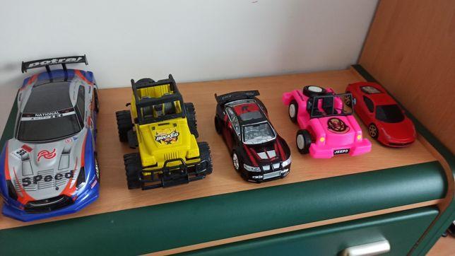 Samochody plastikowe