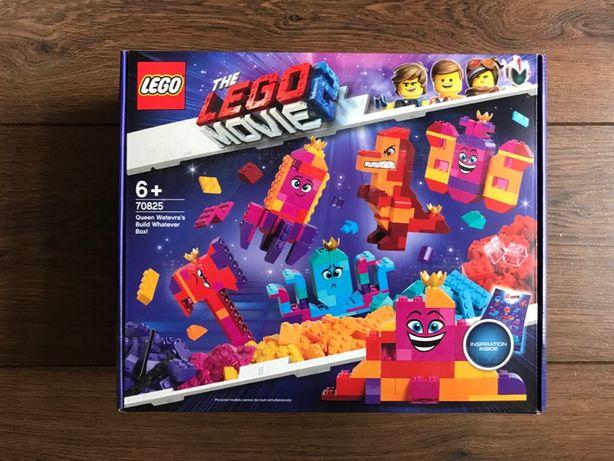 LEGO Movie 2 70825 Pudełko konstruktora Królowej Wisimi - NOWE