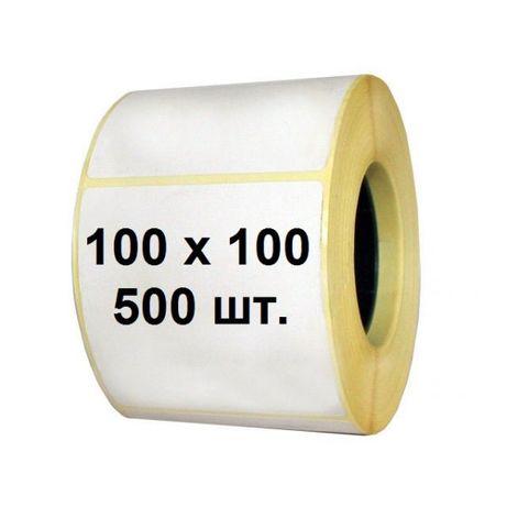 Термоэтикетка, этикетка стикеры для Новой Почты 100*100 мм