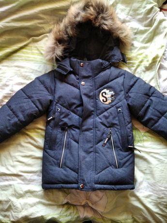 Куртка парка на хлопчика