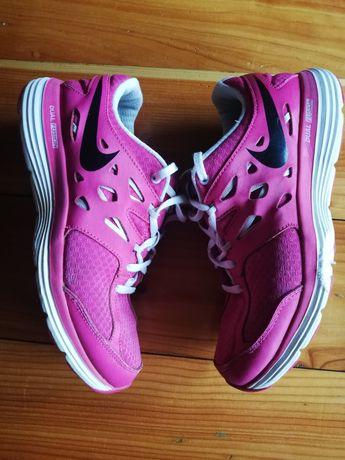 Nike dual fusion adidasy buty sportowe tenisówki różowe 38