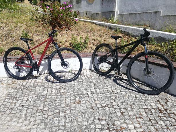 Bicicletas Cube Attention e Aim roda 29 (ler anúncio completo)