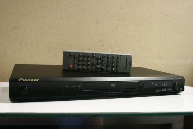 Porządny Odtwarzacz CD/DVD/MP3 PIONEER DVD-380 + Pilot /Wysyłka!