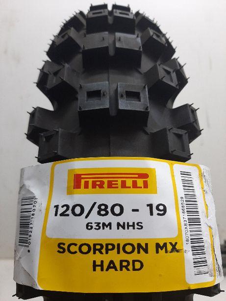 WYPRZEDAŻ !!! Pirelli 120/80-19 Scorpion Mx Hard 486 cross enduro mx