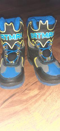 Kozaki trzewiki buty zimowe dla chłopca 23 batman