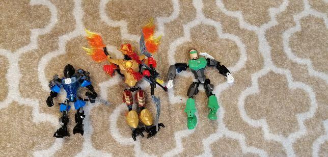 Lego bionicle 3 figurki