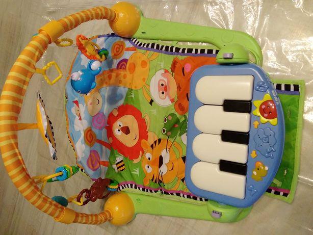 Mata dla dziecka  z pianinkiem