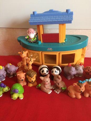 Ноев ковчег fisher price, little people