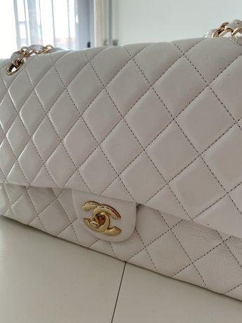 Mala Chanel Branca Nova