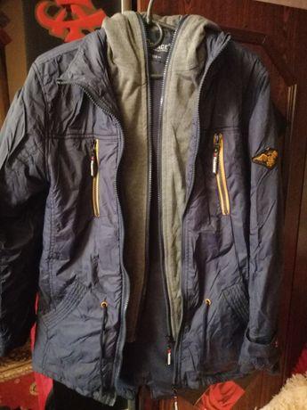 Весняна куртка - парка на підлітка на зріст 158 см