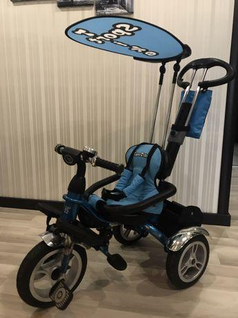Велосипед триколісний з ручкою Ramiz Sport Trike Grand (Польща)