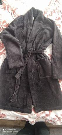 Теплый халат для дома