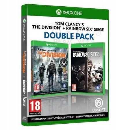 2 gry w cenie jednej! TOM Clancy's Division + Rainbow Six Siege PL