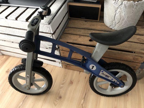 Rower First bike street light blue rowerek biegowy bez hamulca