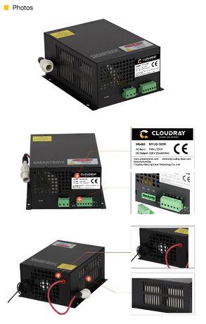 Zasilacz do tuby CO2 -50 W -laser